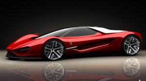 HD Red Maserati