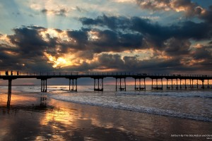 Saltburn-by-the-Sea Sunset