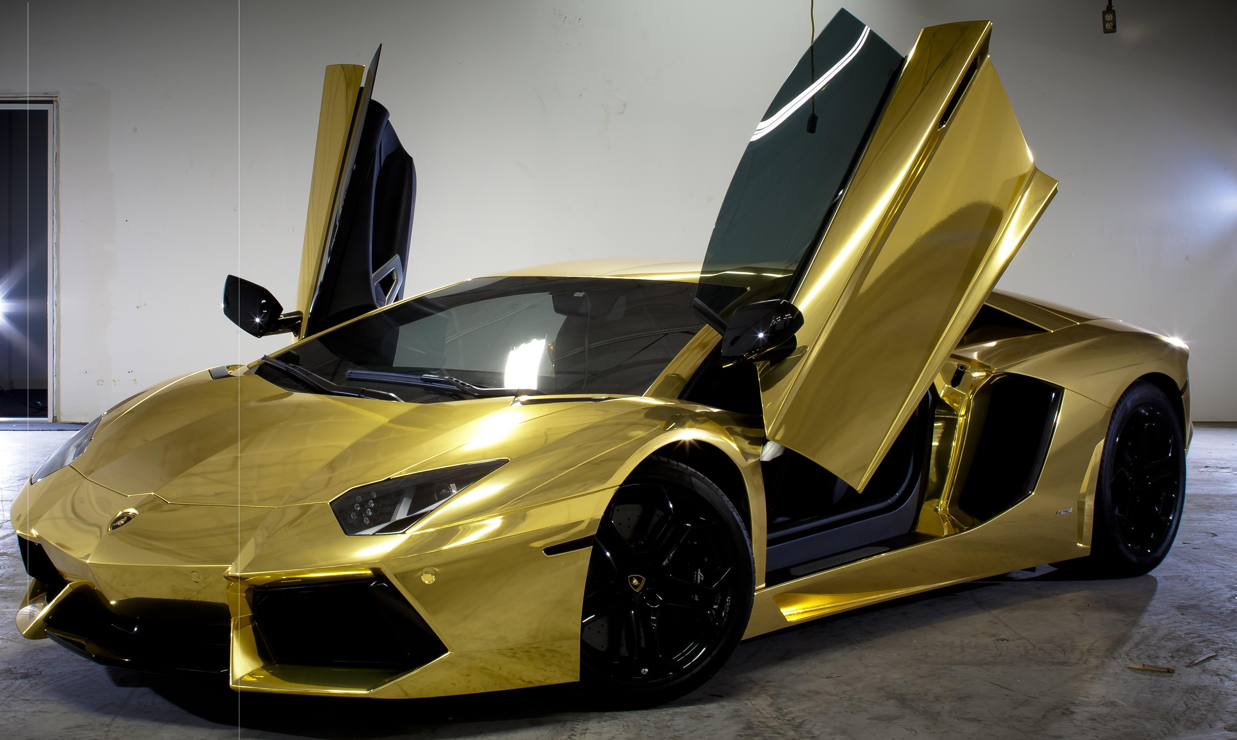 Hd Gold Lamborghini Hd Wallpaper Download