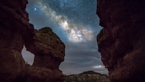 HD Milky Way on the Rocks