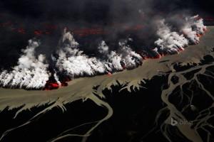 Holuhraun Volcanic Eruption, Iceland