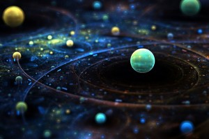 HD Outer Space Fantasy Wallpaper