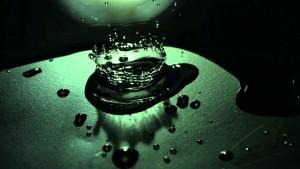 Water Spill Abstract Splash