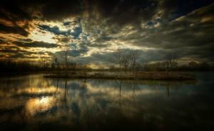 HD – Lake at Sunset