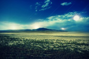 HD Arid Plain Wallpaper
