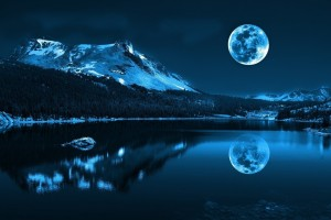 Super Full Moon HD Image