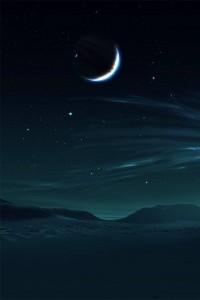 Smartphone Night Sky