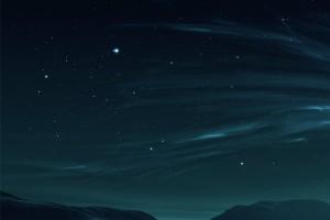 Smartphone Night Sky Wallpaper