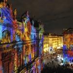 Light Festival Lyon, France