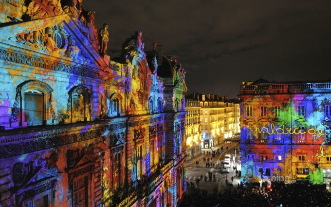 Light Festival Lyon, France