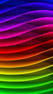 Smartphone HD Rainbow Abstract