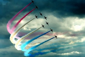Aircraft in Formation Wallpaper