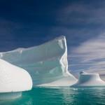 Icebergs Drifting