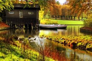 HD Cute Cabin Wallpaper