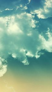 HD Clouds Pattern for iPhone