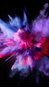 HD Purple and Pink Splash Colors