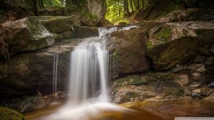 HD Waterfall in Harz National Park